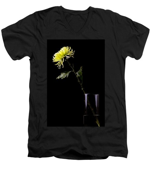 Men's V-Neck T-Shirt featuring the photograph Thirsty by Sennie Pierson