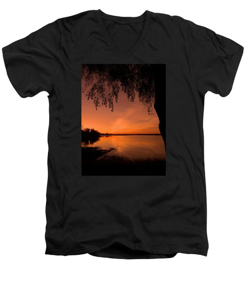 Men's V-Neck T-Shirt featuring the photograph This Is A New Day ... by Juergen Weiss