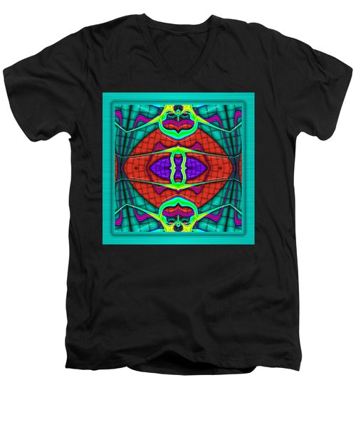 This Rough Magic 2 Men's V-Neck T-Shirt by Wendy J St Christopher