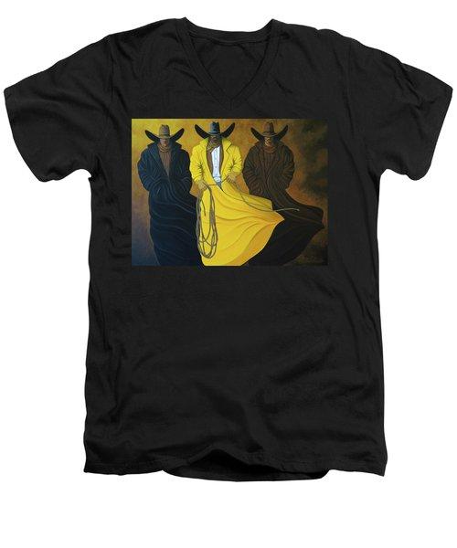 Three Brothers Men's V-Neck T-Shirt