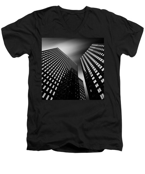 Three Towers Men's V-Neck T-Shirt