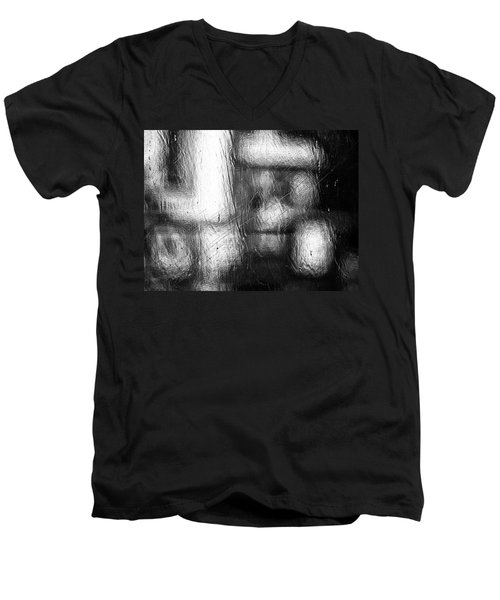 Through The Curtain  Men's V-Neck T-Shirt