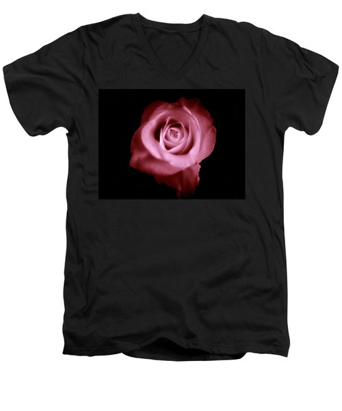 Men's V-Neck T-Shirt featuring the photograph Thumbelina  by Micki Findlay