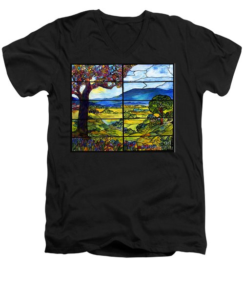 Tiffany Minnie Proctor Window Men's V-Neck T-Shirt