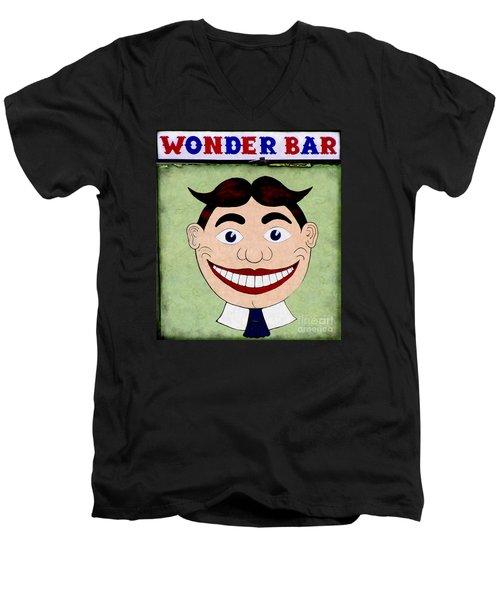 Tillie - Wonder Bar Men's V-Neck T-Shirt by Colleen Kammerer