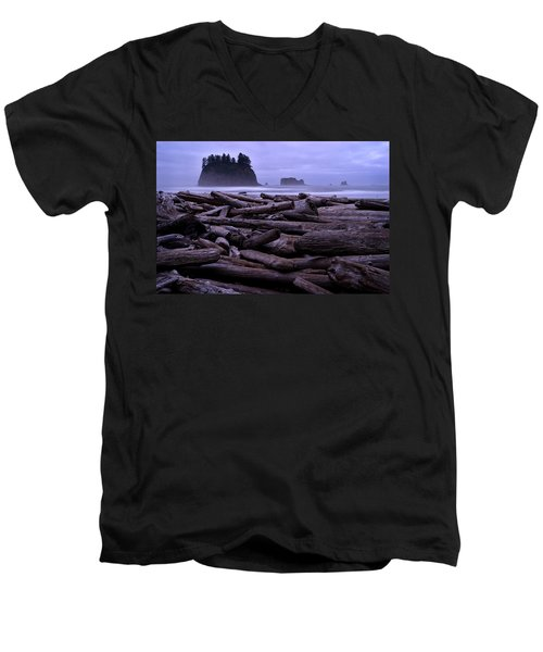 Timber Men's V-Neck T-Shirt