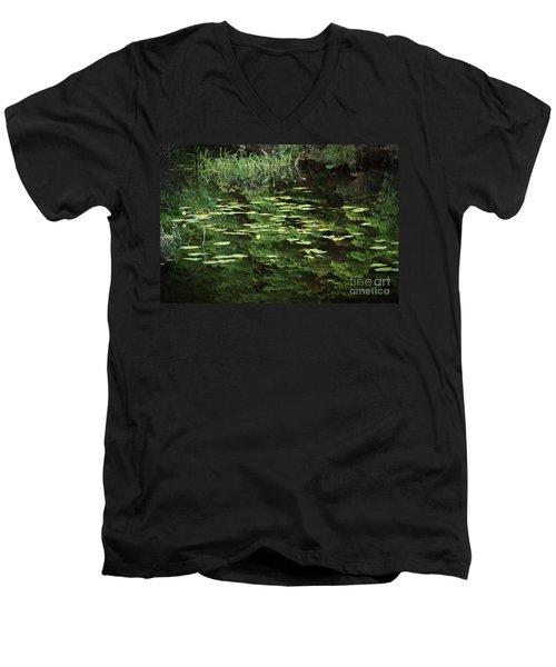 Time For Reflection Men's V-Neck T-Shirt