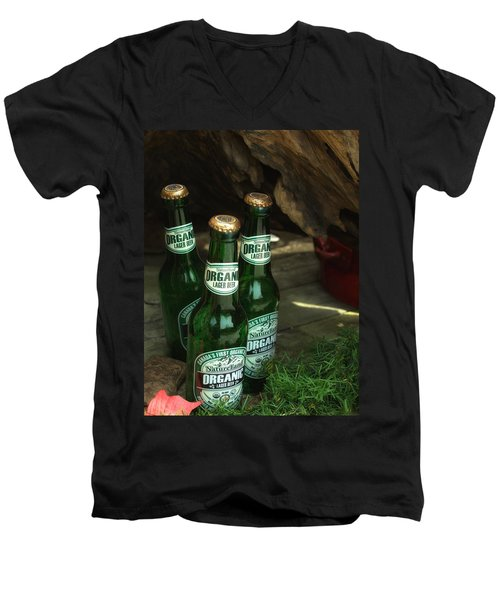 Time In Bottles Men's V-Neck T-Shirt