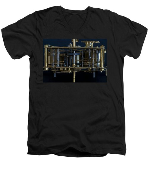 Time Machine Men's V-Neck T-Shirt