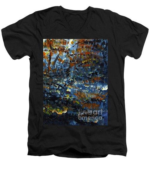 Tim's Autumn Trees Men's V-Neck T-Shirt