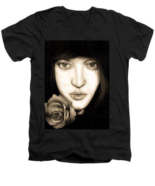 Tina Ayres Men's V-Neck T-Shirt