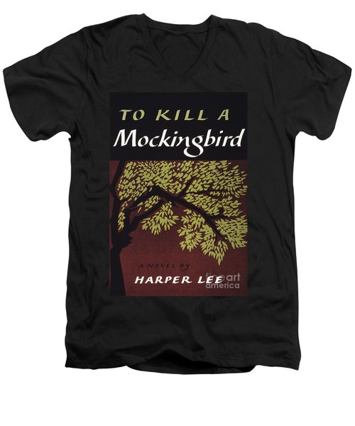 To Kill A Mockingbird, 1960 Men's V-Neck T-Shirt