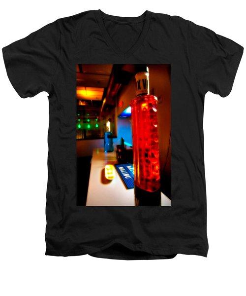 To The Bar Men's V-Neck T-Shirt by Melinda Ledsome