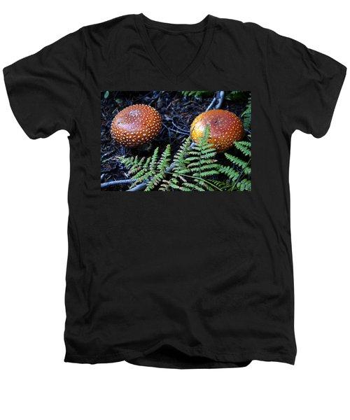Toadstool Men's V-Neck T-Shirt