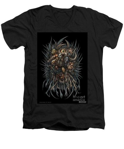 Together We Decay Men's V-Neck T-Shirt