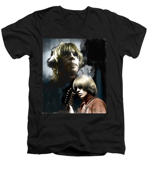 Touchstone Brian Jones Men's V-Neck T-Shirt