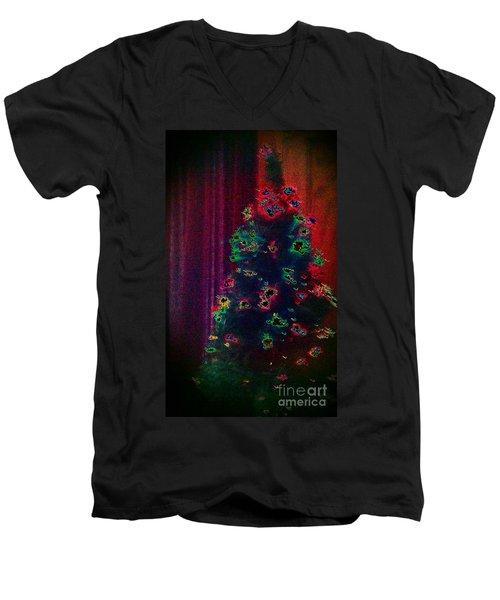 Traditional Christmas Men's V-Neck T-Shirt