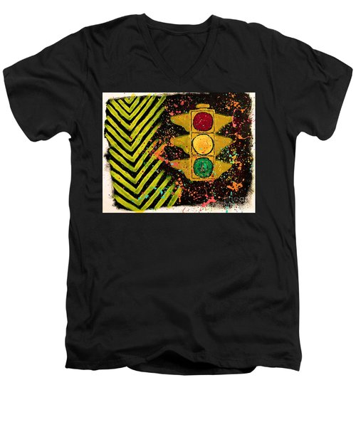 Traffic Jam Men's V-Neck T-Shirt