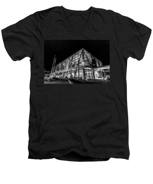 Trains And Buses Men's V-Neck T-Shirt