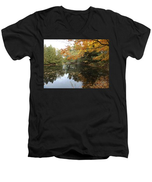 Tranquil Getaway Men's V-Neck T-Shirt