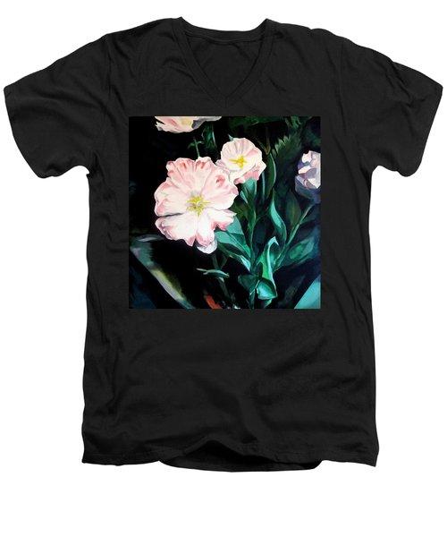 Tranquility In The Garden Men's V-Neck T-Shirt