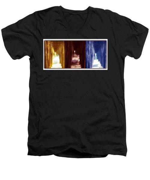 Transforming Waters  Orginal Piece Men's V-Neck T-Shirt