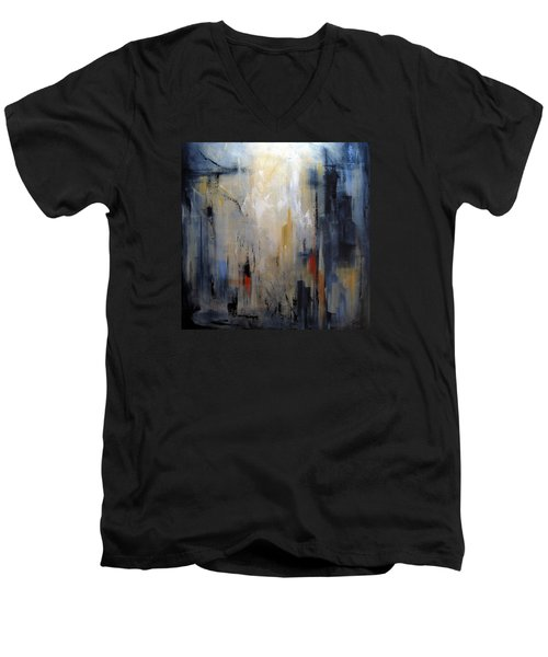 Travel Men's V-Neck T-Shirt by Roberta Rotunda