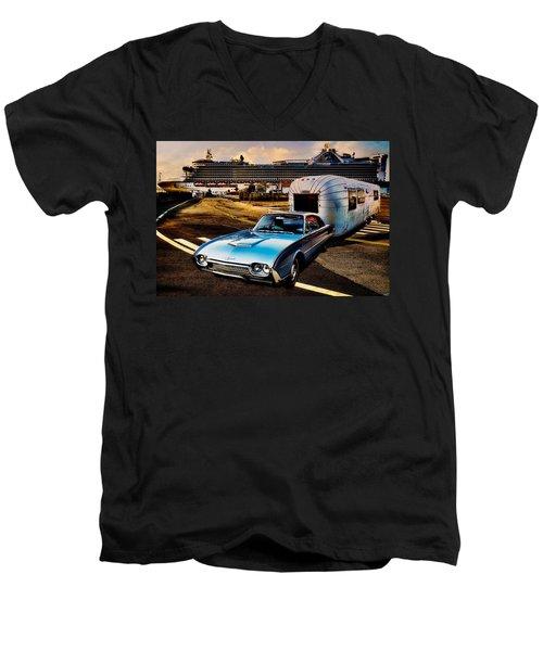Travelin' In Style Men's V-Neck T-Shirt