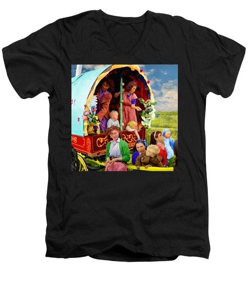 Travellers Men's V-Neck T-Shirt