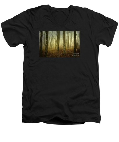 Trees II Men's V-Neck T-Shirt