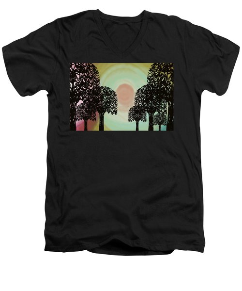 Trees Of Light Men's V-Neck T-Shirt