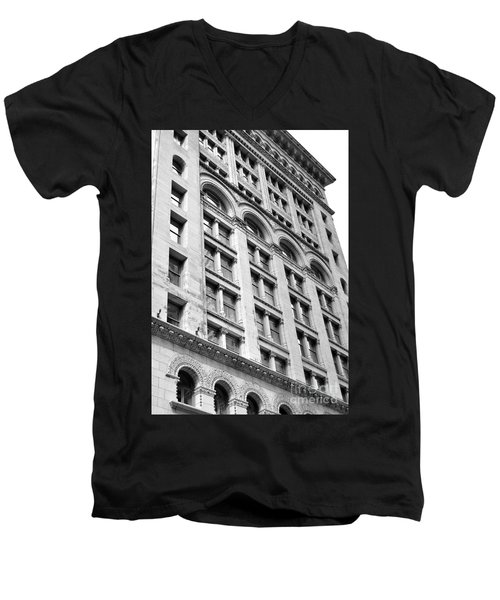Tremont St Temple Boston Ma Men's V-Neck T-Shirt