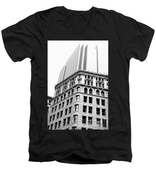 Tremont Temple Boston Ma Men's V-Neck T-Shirt