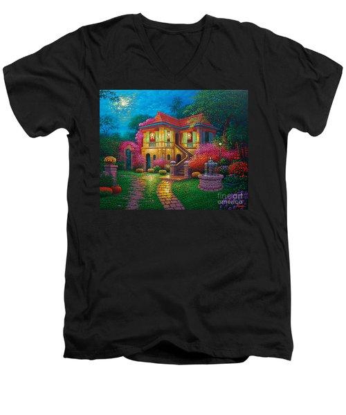Tres Reyes Magos Men's V-Neck T-Shirt