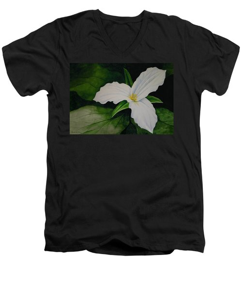 Trillium Men's V-Neck T-Shirt