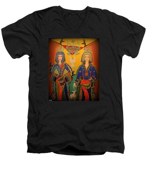 Trinity Men's V-Neck T-Shirt