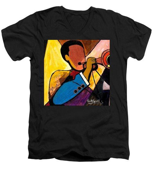 Trip Trio 1 Of 3 Men's V-Neck T-Shirt
