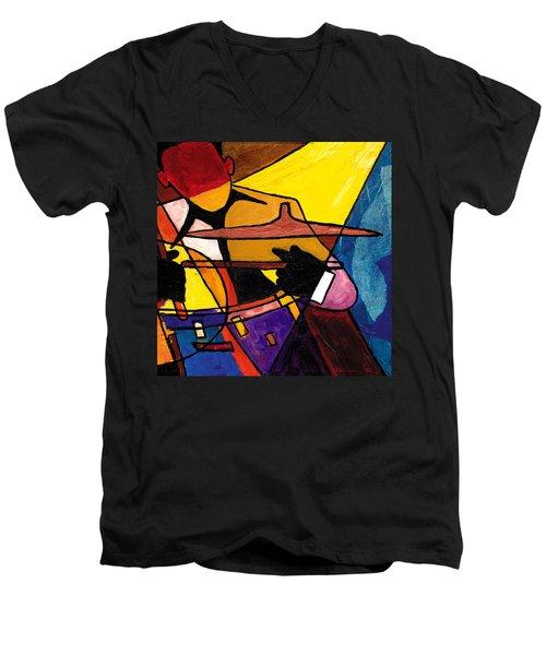 Trip Trio 3 Of 3 Men's V-Neck T-Shirt