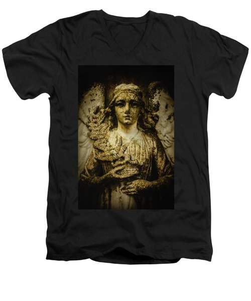 Men's V-Neck T-Shirt featuring the photograph Triumph by Jessica Brawley