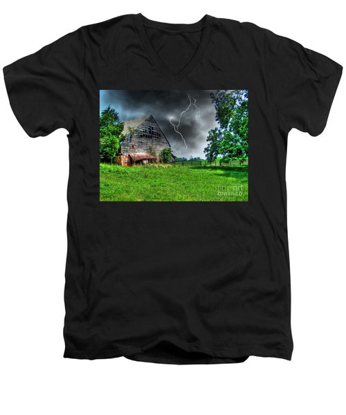 Trouble Brewing Men's V-Neck T-Shirt