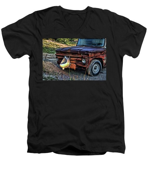 Truck With Benefits Men's V-Neck T-Shirt