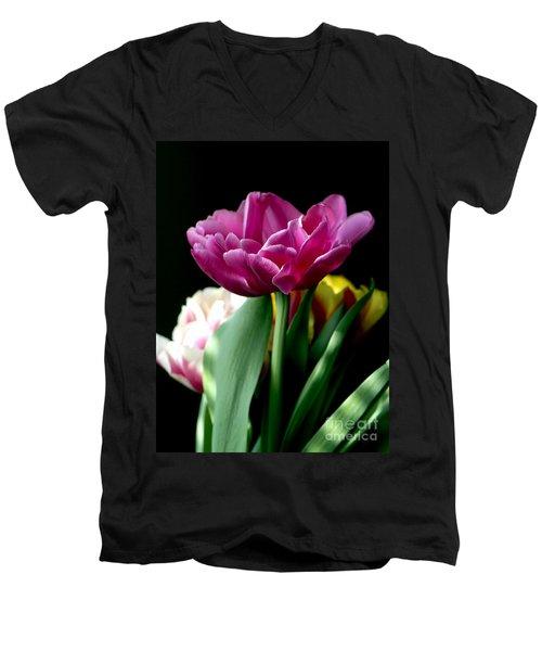 Tulip For Easter Men's V-Neck T-Shirt