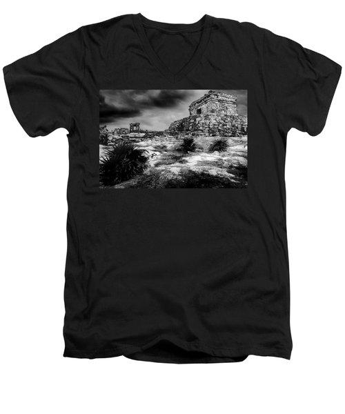 Tulum Ruin Men's V-Neck T-Shirt
