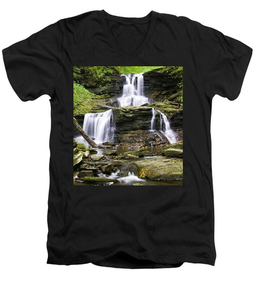 Tuscarora Falls Men's V-Neck T-Shirt