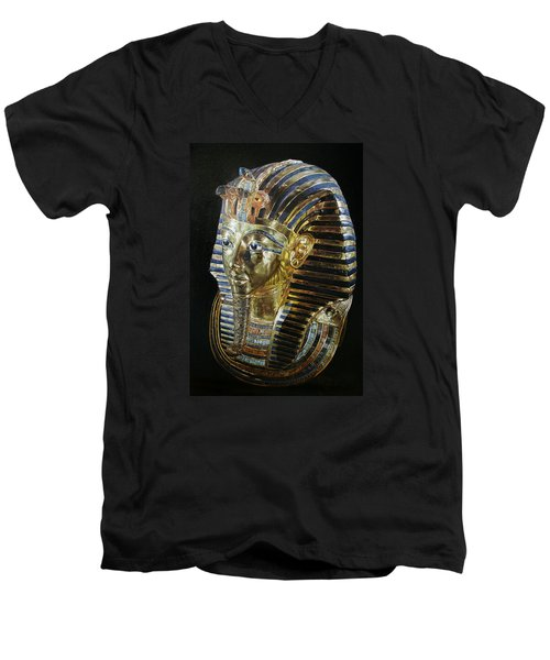Tutankamon's Golden Mask Men's V-Neck T-Shirt