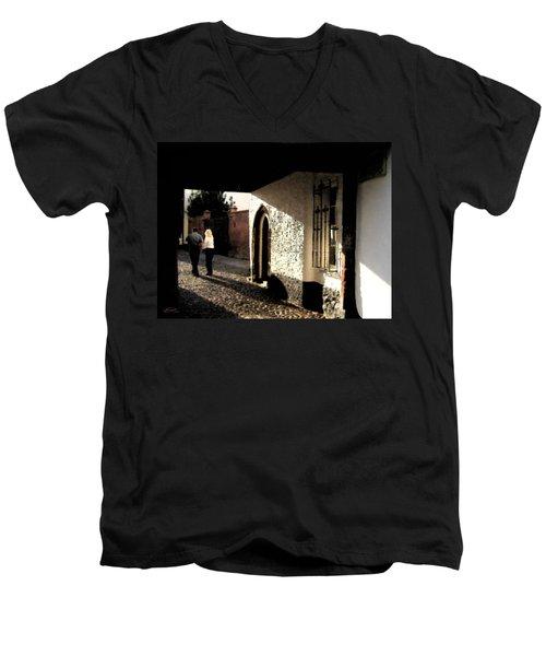 Twilight Love Men's V-Neck T-Shirt
