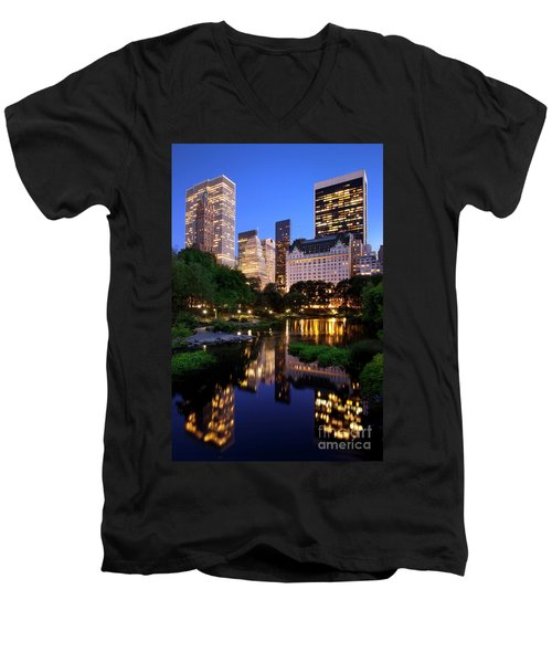 Twilight Nyc Men's V-Neck T-Shirt