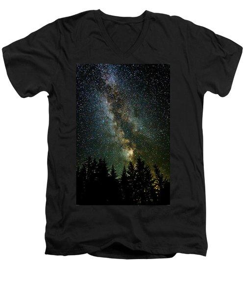 Twinkle Twinkle A Million Stars  Men's V-Neck T-Shirt