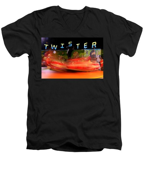 Twister Men's V-Neck T-Shirt