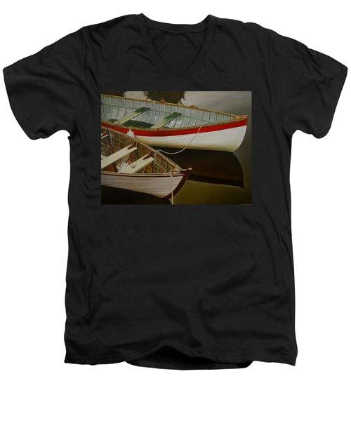 Two Boats Men's V-Neck T-Shirt